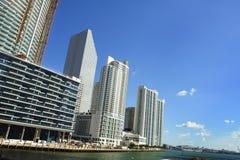 Nowy W centrum Miami zdjęcie stock