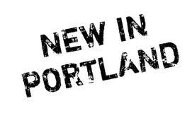 Nowy W Portlandzkiej pieczątce Zdjęcia Royalty Free