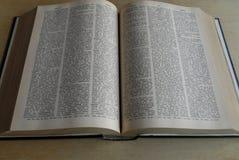 NOWY WEBSTER ENCYKLOPEDYCZNY słownik obraz royalty free