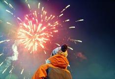 nowy wigilia rok s Fotografia Royalty Free