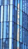 Nowy world trade center budynku Abstrakcjonistyczny Szklany drapacz chmur Reflec Zdjęcia Royalty Free