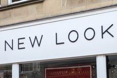 Nowy Wygląd sklep detaliczny Zdjęcia Royalty Free