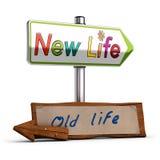 Nowy życie, 3D wizerunek Zdjęcia Stock