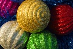Nowy Year& x27; s ornamenty Zdjęcia Royalty Free