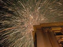 Nowy year& x27; s wigilia Fotografia Royalty Free