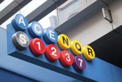 nowy York metra Zdjęcie Royalty Free