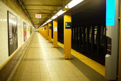 nowy York metra Obrazy Royalty Free
