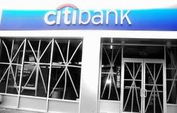 Nowy York miasta usa Citibank huraganu przygotowanie Obraz Royalty Free
