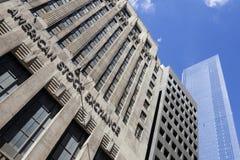 Nowy York miasto, 11 2015 Wrzesień: fasada nowy York zapasu excha Zdjęcie Stock