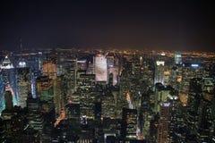 nowy York noc Zdjęcie Royalty Free