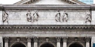 nowy York publicznej biblioteki Zdjęcia Stock