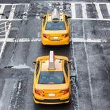 nowy York taksówkę obrazy stock