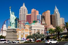 nowy York Vegas lasów, Fotografia Stock