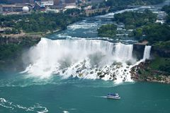 nowy York wodospad Niagara spada Zdjęcia Royalty Free