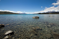 Nowy Zealand, jeziorny tekapo Fotografia Royalty Free