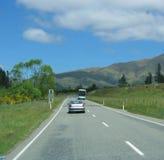 nowy zeland highway pojazdów Fotografia Royalty Free