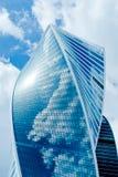 Nowych budynków nowożytny centrum biznesu Fotografia Royalty Free