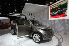 nowych pojęć 2011 samochodowych kia Fotografia Stock