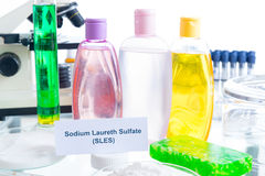 Noxious Additives In Cosmetics Royalty Free Stock Photography