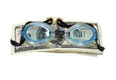 Noyade dans la dette Photos libres de droits