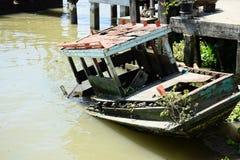 Noyade du bateau Photo libre de droits