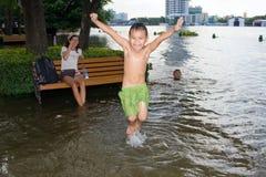 Noyage dans la ville de Bangkok. La Thaïlande. Photo stock
