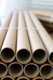 Noyau de papier industriel Photographie stock libre de droits