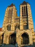 Noyon cathedral in France Stock Images