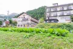 Nozawa Onsen é uma cidade da mola quente situada na parte nortenha o foto de stock royalty free