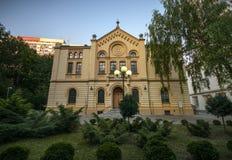 Nozyk (NoÅ ¼yk) synagoga Arkivfoton