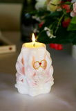 Nozze di lume di candela Fotografie Stock