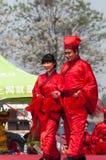 Nozze di massa stile Han cinesi Fotografia Stock Libera da Diritti