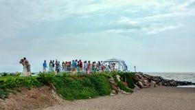 Nozze di Vallarta fotografie stock libere da diritti