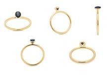 Nozze Diamond Ring Fotografie Stock Libere da Diritti