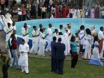 Nozze etiopiche Fotografia Stock