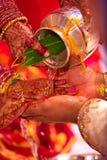 Nozze indiane Fotografie Stock