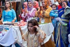 Nozze musulmane, Marocco fotografie stock libere da diritti