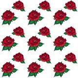 Nozze Rose Seamess Pattern Fotografie Stock