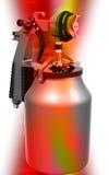 Nozzle spray gun Royalty Free Stock Photography