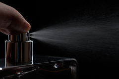 Nozzle spray perume Royalty Free Stock Photography