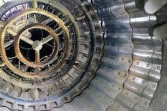 Nozzle of the turbojet engine Royalty Free Stock Photo