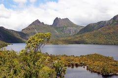 Τασμανία, βουνό NP, Αυστραλία λίκνων Στοκ φωτογραφίες με δικαίωμα ελεύθερης χρήσης