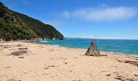 NP Abel Tasman - κόλπος Whariwharangi στοκ φωτογραφία