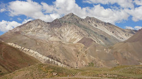 NP Aconcagua, Anden-Berge, Argentinien Stockbild