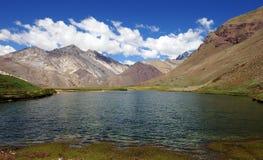 NP Aconcagua, Andes berg, Argentina Royaltyfria Bilder