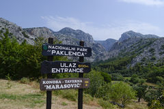 Paklenica National Park Royalty Free Stock Image