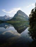 np swiftcurrent lodowej jeziora fotografia royalty free