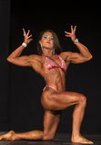 2015 NPC Universe Championships. Kelly Diffenderfer showed nifty moves and fabulous form as she captured first place in the Women's Physique Open B class at the royalty free stock images