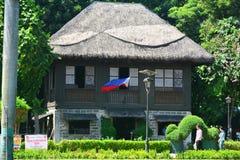 NPDC-Sicherheits-Bürofassade in Rizal-Park, Manila, Philippinen Stockbilder