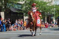 2015 NPRA Sydney Butler chybienie Obraz Royalty Free